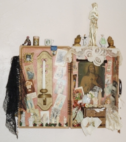 My Valise of Life ~ Assemblage