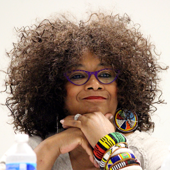 Jaki Shelton Green - Jaki Shelton Green is a writer and poet, a North Carolina native whose publications include Dead on Arrival, Dead on Arrival and New Poems, Masks, Conjure Blues, singing a tree into dance, breath of the song, Blue Opal (a play), and Feeding the Light. Her work has appeared in publications such as The Crucible, Obsidian, Essence Magazine, Callaloo, and Black Gold: An Anthology of Black Poetry, among many others. In 2014 the North Carolina native was inducted into the state's Literary Hall of Fame and was nominated for a Pushcart Prize; in 2009 she served as the North Carolina Piedmont Laureate. Among other honors, she was named the 2016 Lenoir-Rhyne University Writer-in-Residence and received a 2007 Sam Ragan Award for Contributions to the Fine Arts of North Carolina and a 2003 North Carolina Award (literature), the state's highest civilian honor for significant contributions to the state and nation in fine art, literature, public service, and science. Green is the owner of SistaWRITE, which provides retreats and travel excursions for women writers and the 9th North Carolina Poet Laureate.