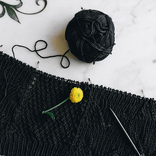Wow, two posts in a row!! And I'm two chart repeats through the back of the #aerakisweater by @weareknitters.  It's a little frustrating that my progress is so slow, but I guess that's what I get for being so busy!⁠ .⁠ .⁠ .⁠ #weareknitters #knitting_inspiration #knittinginspiration #knitting #knit #knitsagram #knittersofig #knittersofinstagram #knittersoftheworld #knitwear #instaknit #instaknitters #instaknitting #nevernotknitting #knitters #handknit #knittingaddict #thehooknookers #ourmakerlife⁣ #yarnpunk #yarn #cottonyarn #ravelry #cotton #naturalfibers #naturalfibres⁠