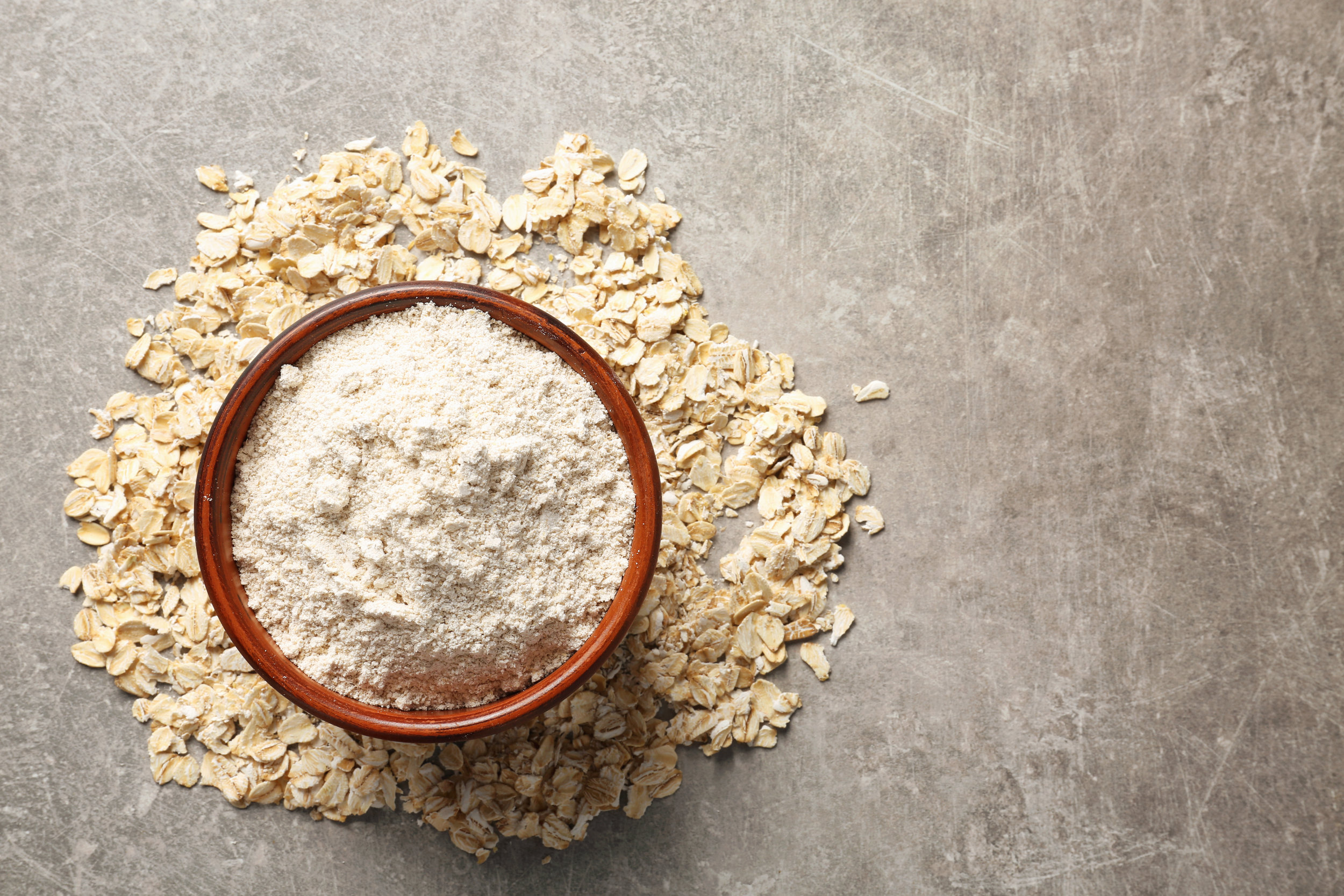 Toatal oats and pulses flour mixture - Available in 1kg, 2kg or 10kg bags.Our specialized mixture is super simple to use. Just use equal parts of Toatal oats and pulses flour and water and follow the recipe. Make your own breads, wraps, pastries, pastas and more.