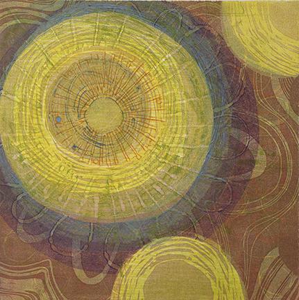 Radiating Circles