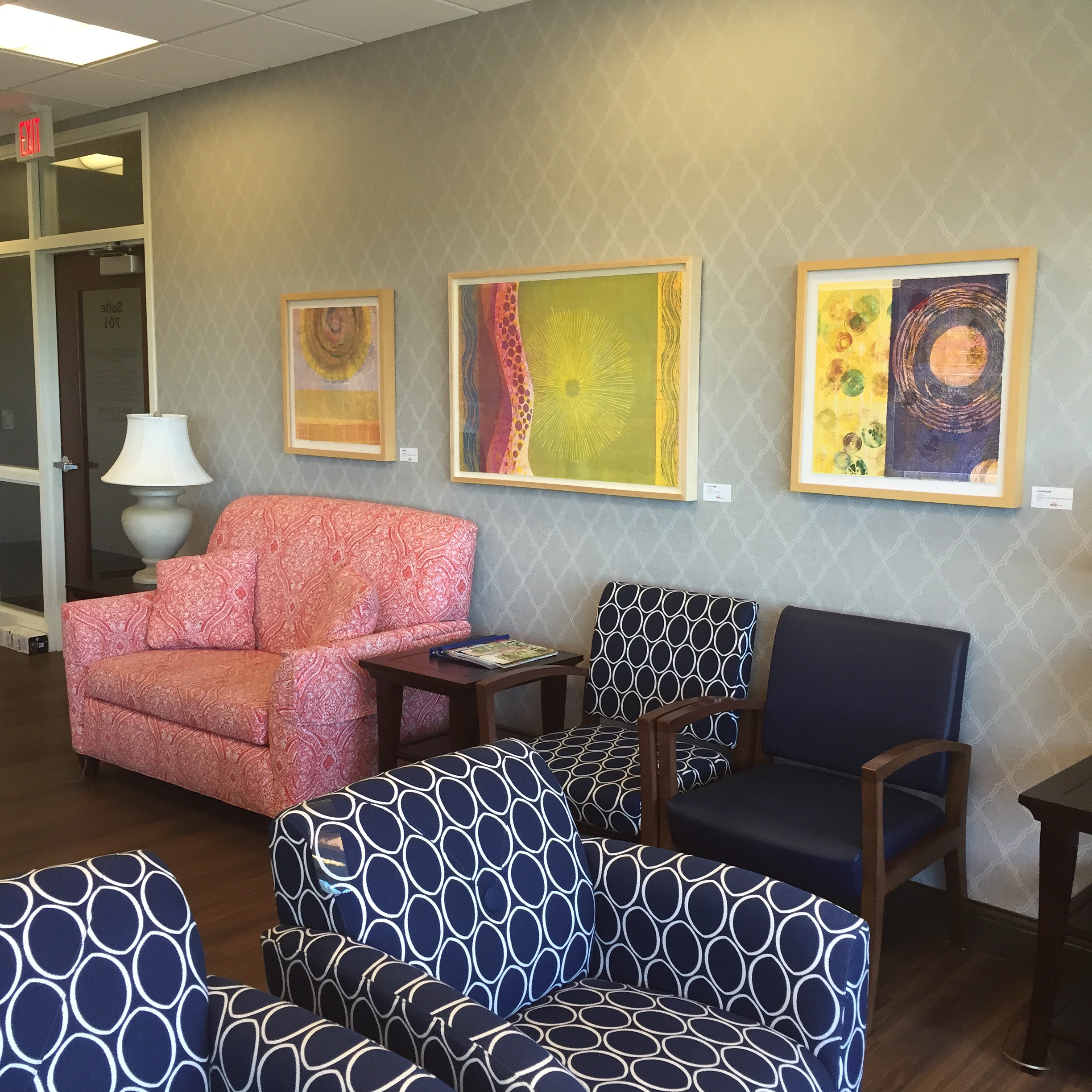 Baptist Health Women's Center, Art Connects Program, Lexington, KY - 2017