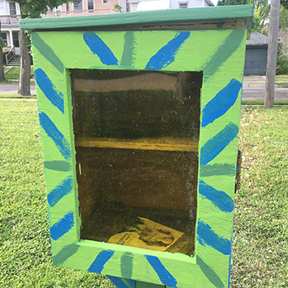 Can you find all the Little Free Libraries in the neighborhood?
