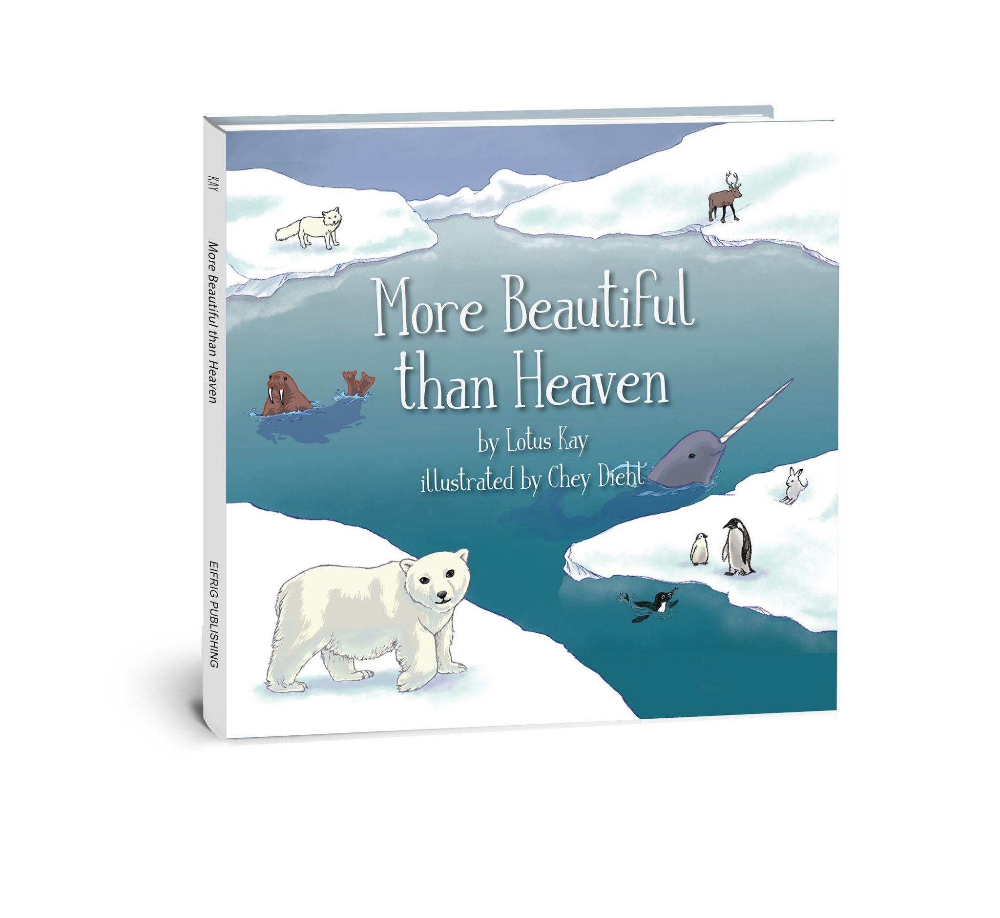 More Beautiful than Heaven - by Lotus KayJoin Beary the bear and our other animal family and friends as we celebrate the wonder and beauty of our home, the Earth, and be inspired to care for our planet and protect it.