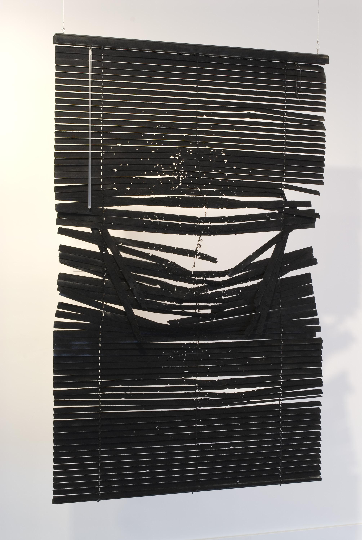 Heidi Schwegler Detail   Swimming Through Nitroglycerin exhibited at Alicia Blue Gallery