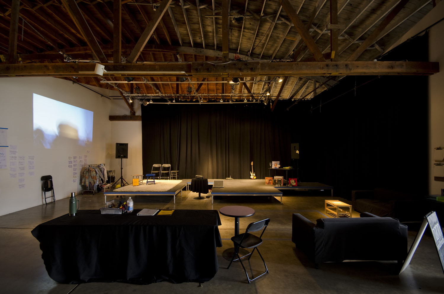 Hand2Mouth Theatre  at Disjecta  photo by Mark Stein
