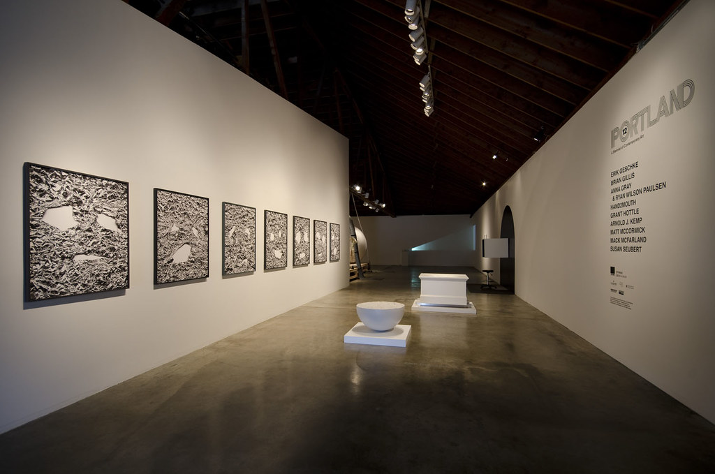 Installation at Disjecta  photo by Mark Stein