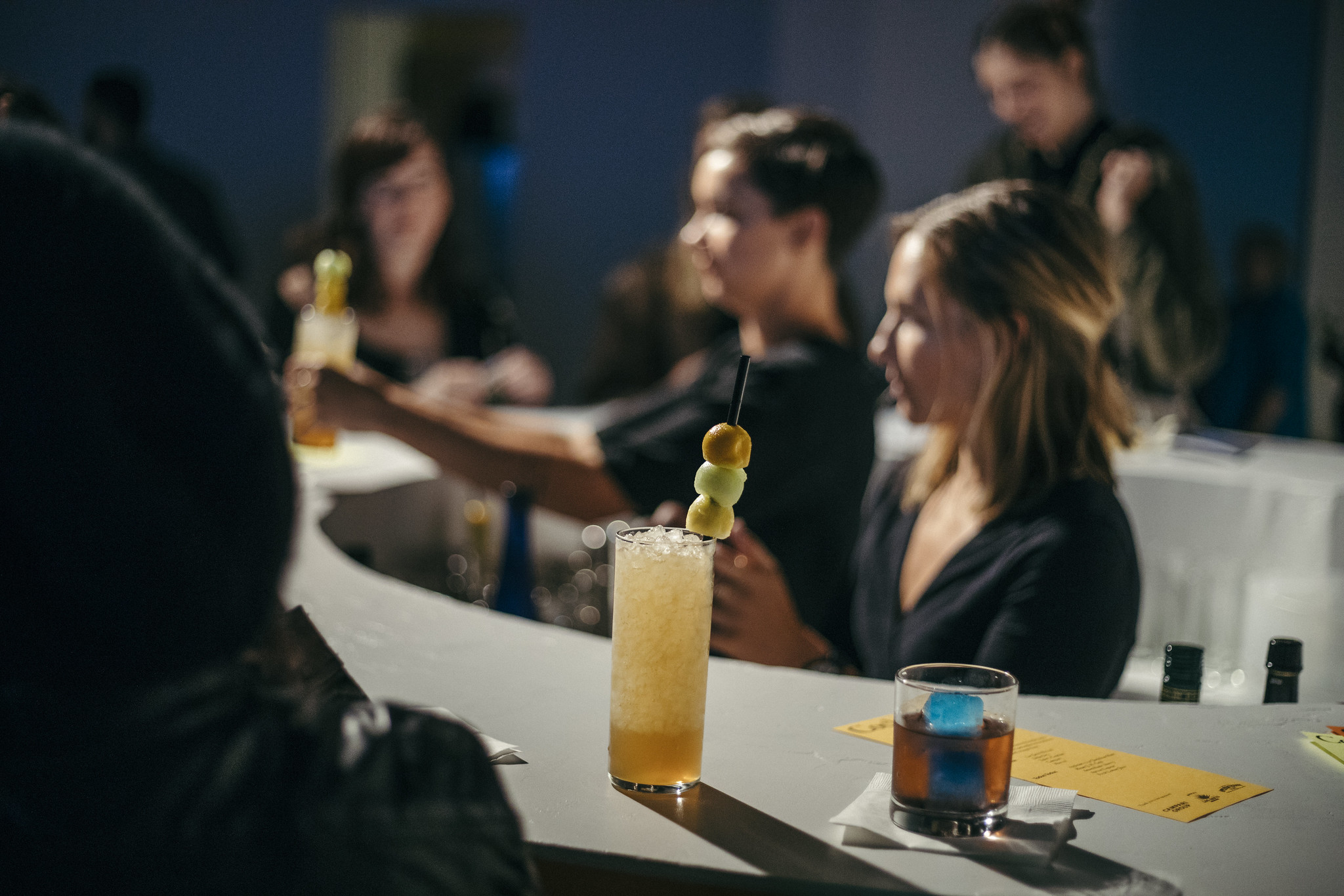 Culinaria Opening: Drinks by Leah Brown (Angel Face) at the new Art Bar by Ben Sanders -