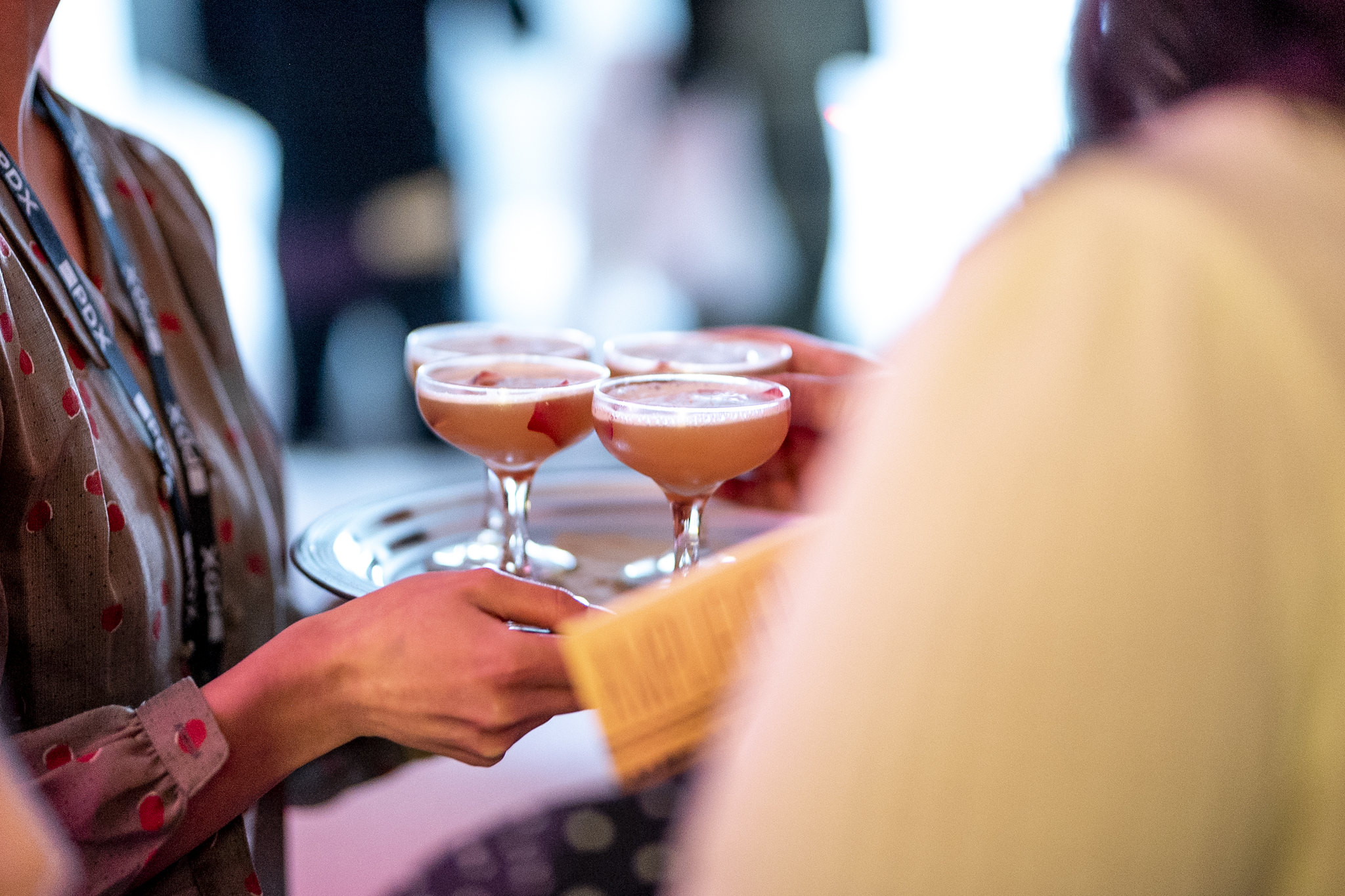 Drinks by Mixologist Emily Mistell of Hey Love, paired with Visual Artist Alyson Provax and Sound Artist Marcus Fisher