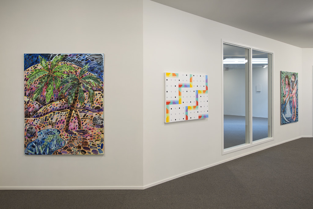 Installation at Hoffman Gallery at Oregon College of Art and Craft, Portland
