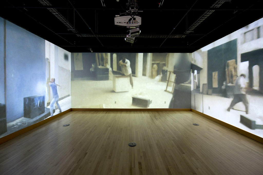 Installation at The White Box at the University of Oregon in Portland