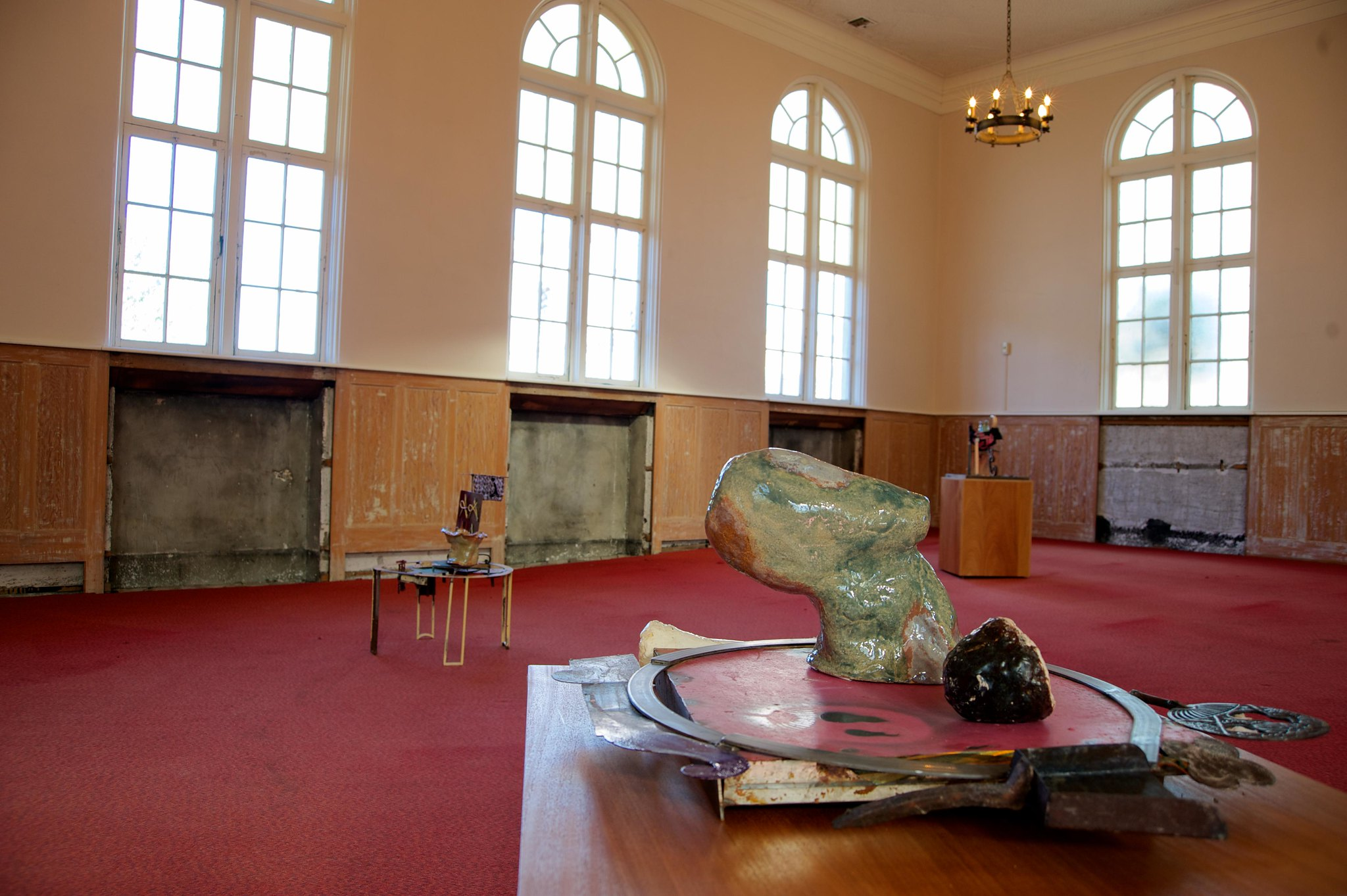 Jessica Jackson Hutchins  exhibited at Former Christian Science Reading Room, Pendleton