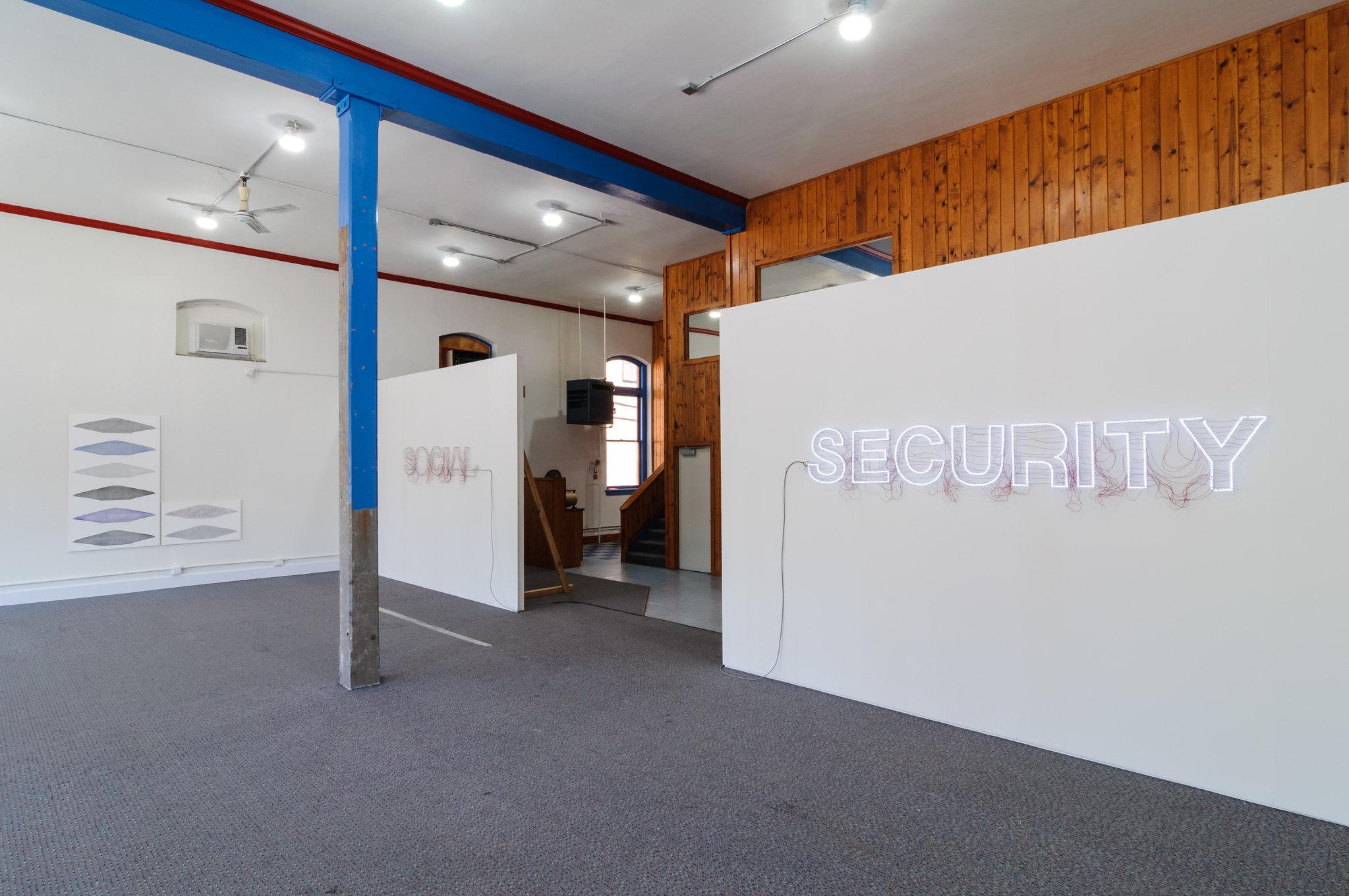 Installation at Morin Print Building, The Dalles