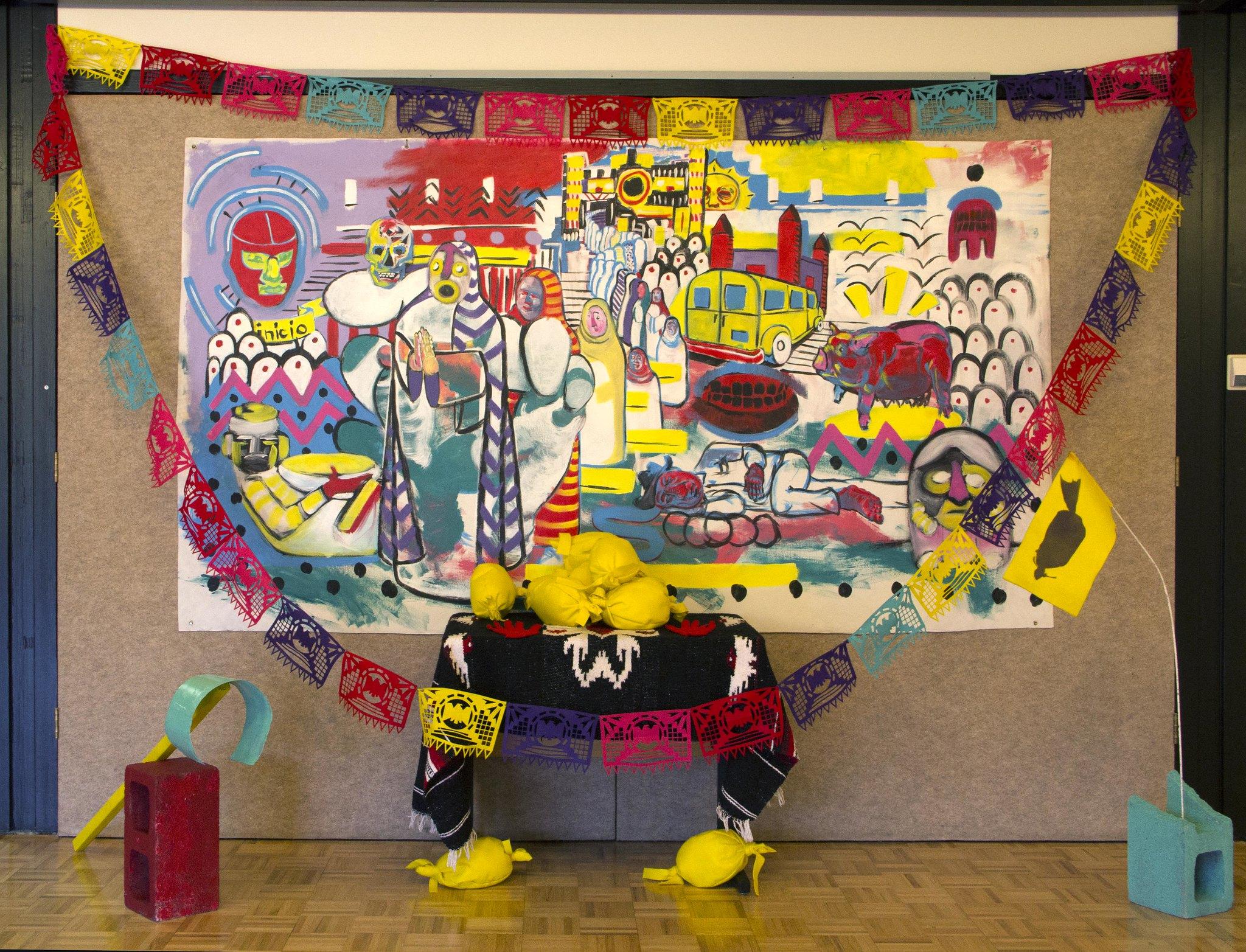 Installation at the Umpqua Community College, Roseburg