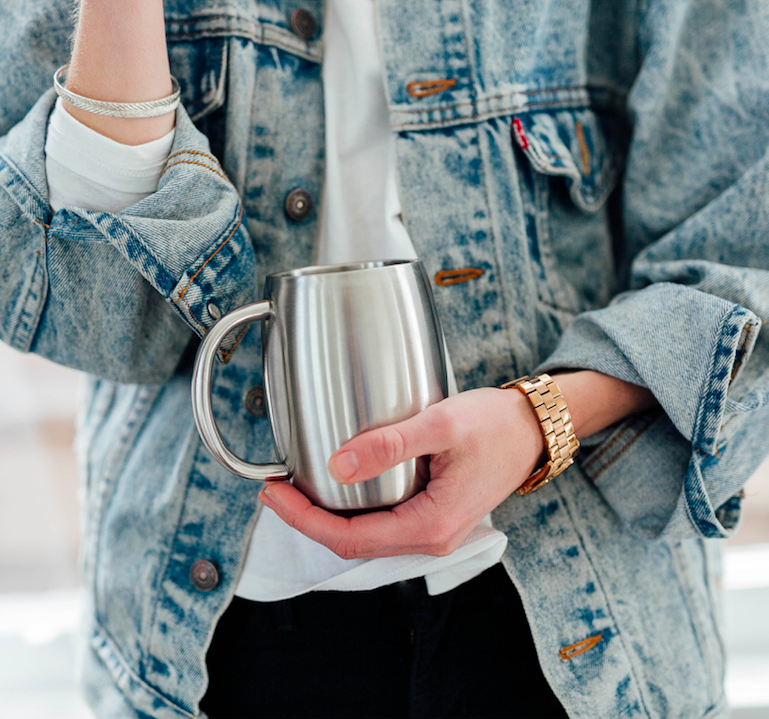 reusable to-go cup