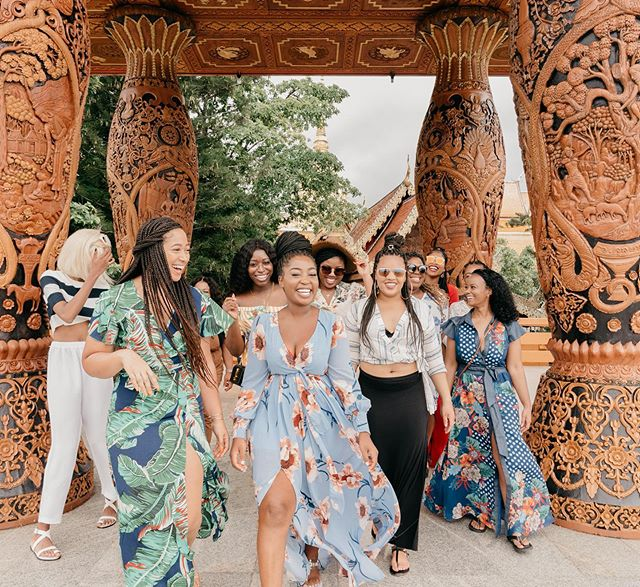 The energy on this trip has been absolutely incredible! This Thailand Trip brings me back to why I started Chidi Ashley Travels in the first place. To meet and connect with other travelers. ✔️To create a space for people who share the same spirit of adventure✔️, and to empower other travelers to get out of their comfort zones✔️. This week felt like we accomplished all of that and more. Thank you to each and every one of you! #thailandtakeover ❤️❤️