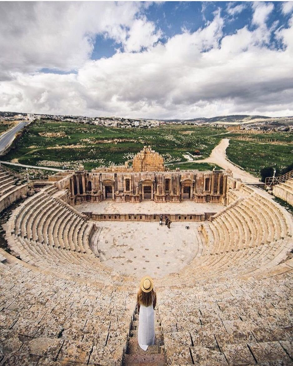 Taking a trip to Jerash will transport you 2000 years back in history_ So much beautiful architecture to explore  #ShareYourJordan #Jerash Photo Credit @eljackson by visitjordan.jpeg