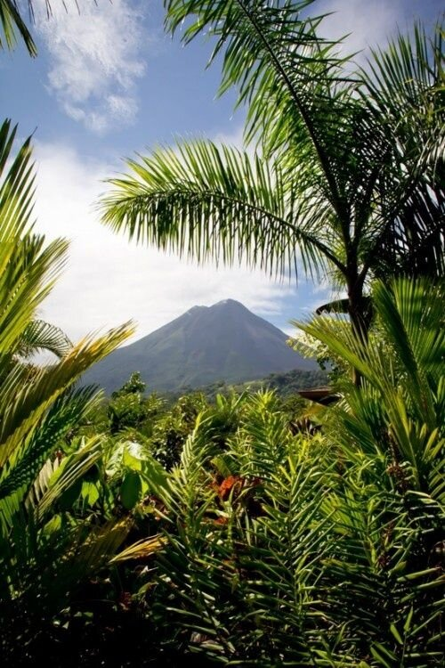 La Fortuna Costa Rica_ It was awesome laying in our room watching it erupt at night.jpeg