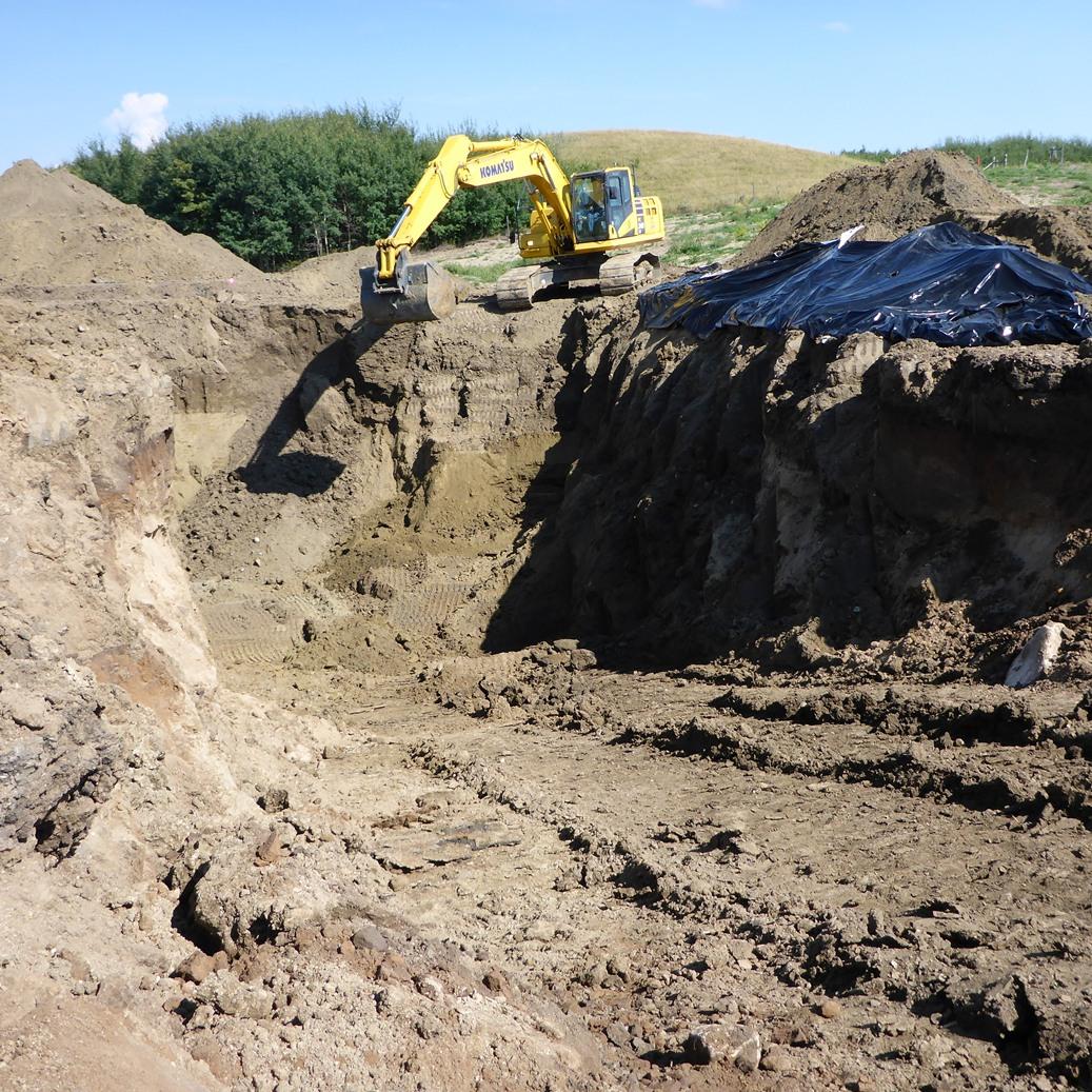 11-10-036-05 W4_ Excavation 2_East wall_East FV_17Aug2013.JPG