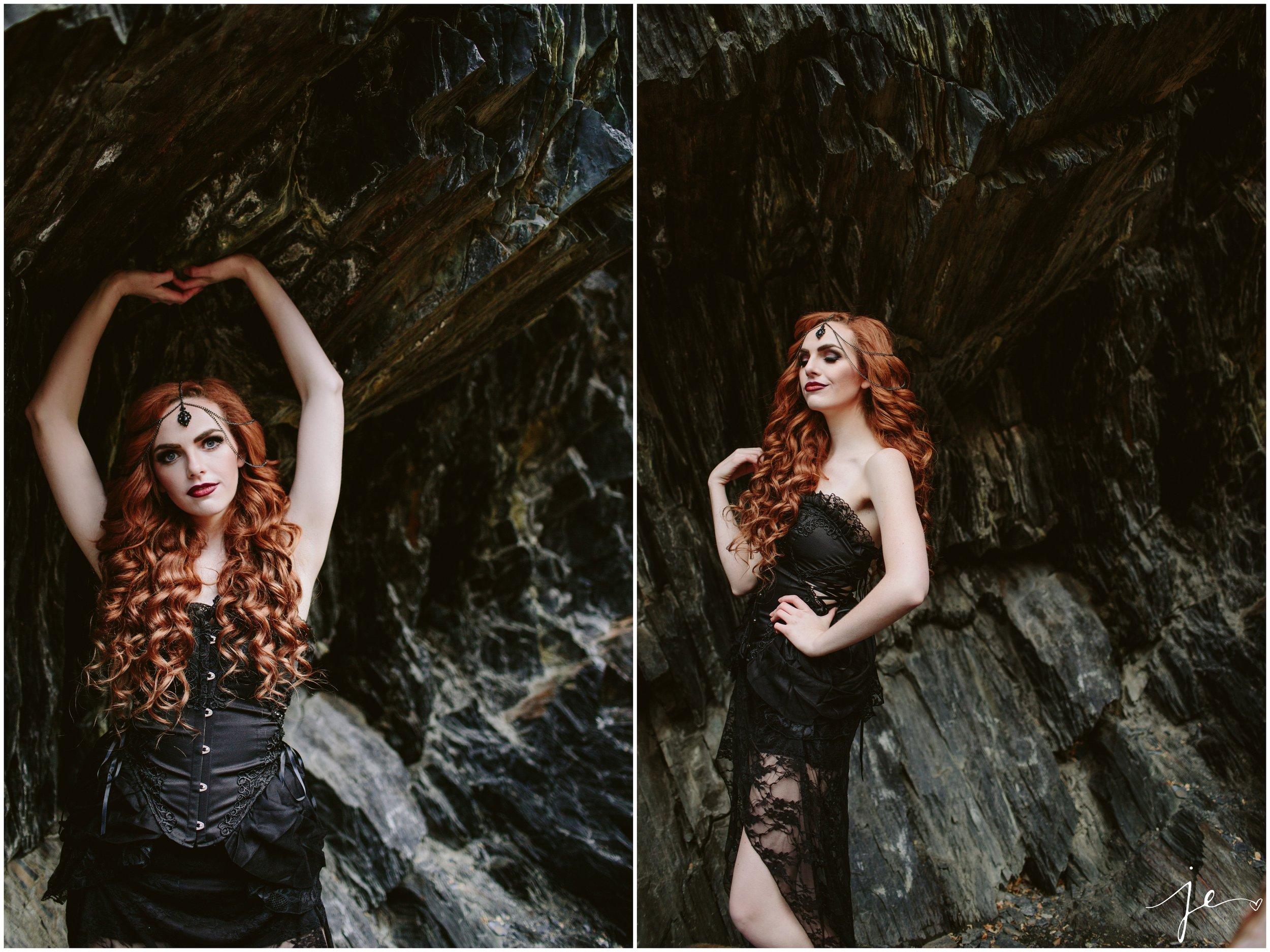 Vampire Boudoir Utah Boudoir Photography Jessica E