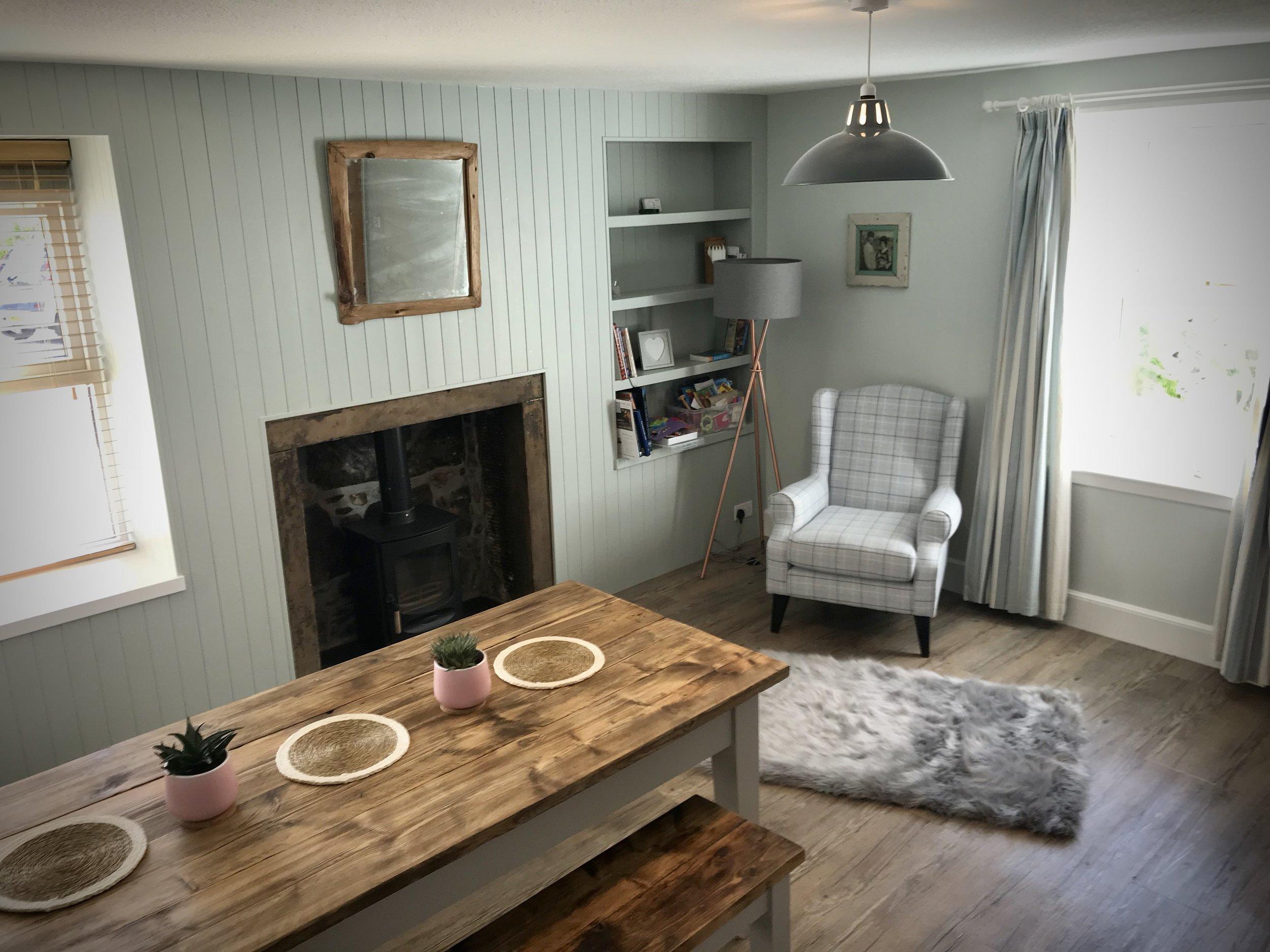 Boisdale Cottage dining room