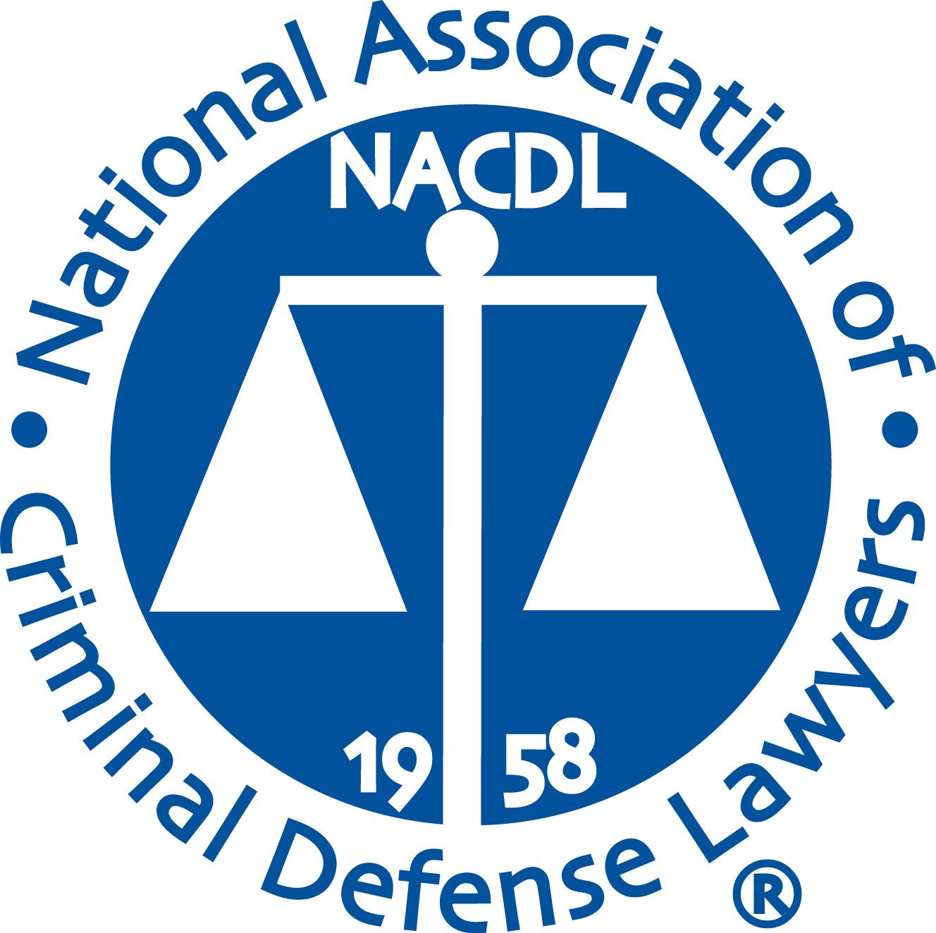 National Association of Criminal Defense Lawyers Badge