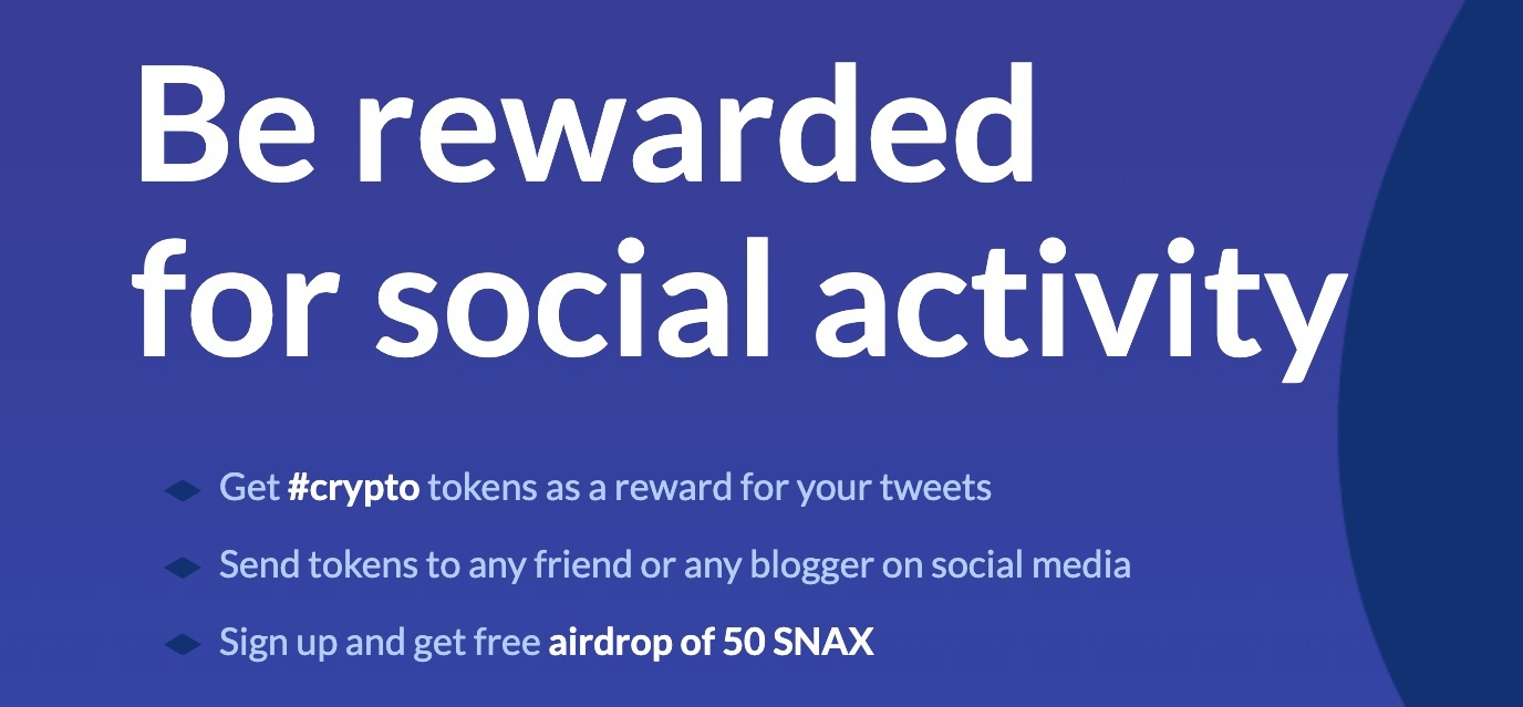 Click the image above to sign up for Snax and start being rewarded today!