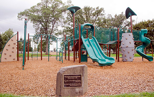 Washington Park Playground, Walla Walla