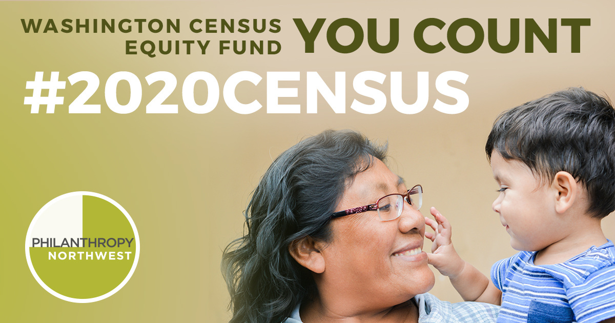 Statewide funding is available through the Washington Census Equity Fund — applications due May 15.  Click to learn more!