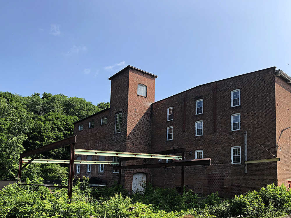 Eagle Mill buildings, Lee MASS, photo