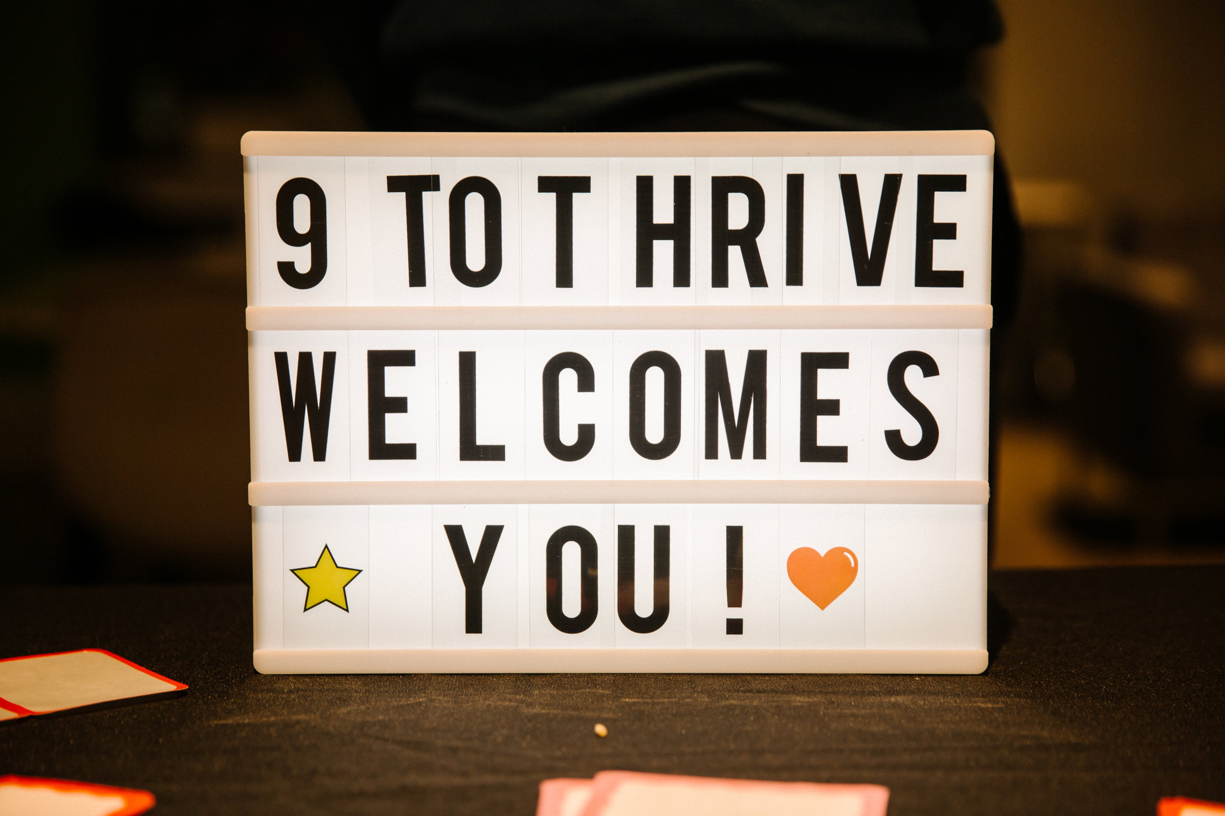 9 TO Thrive Blog