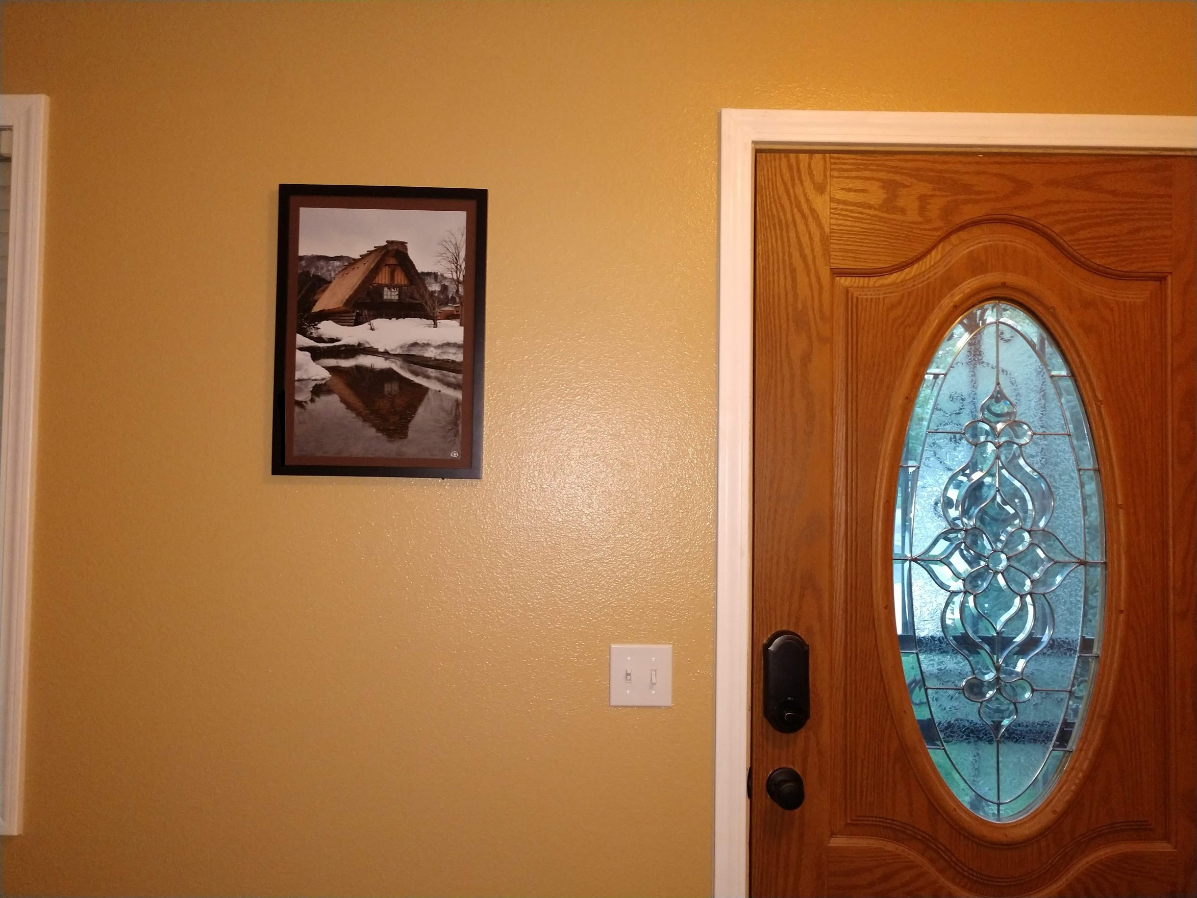 Custom Photo Mat and Frame -