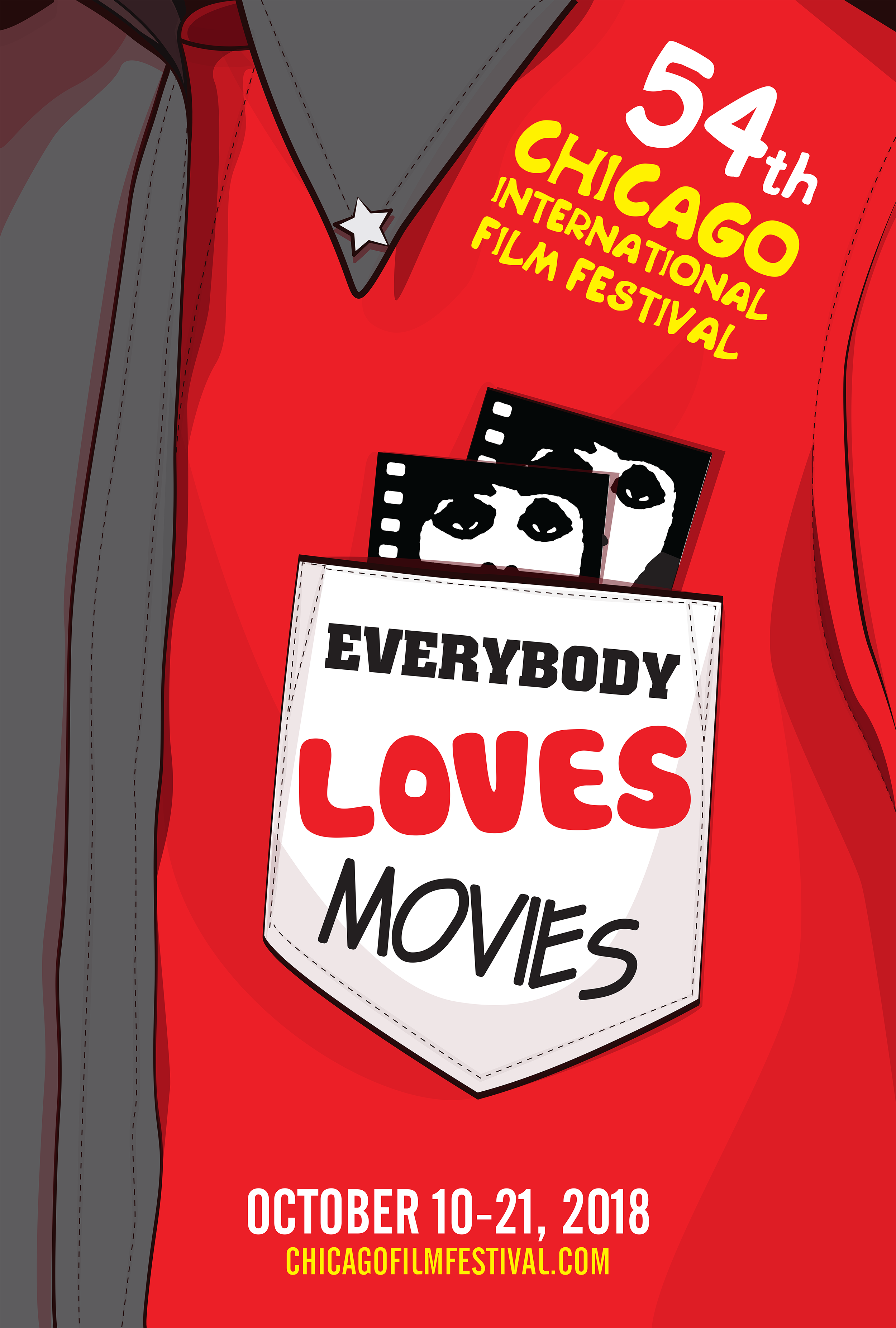 Everybody Loves Movies - Poster size: 27 x 40 (inch)This poster is my submission for the 54th Chicago International Film Festival Poster Design Competition which themes is