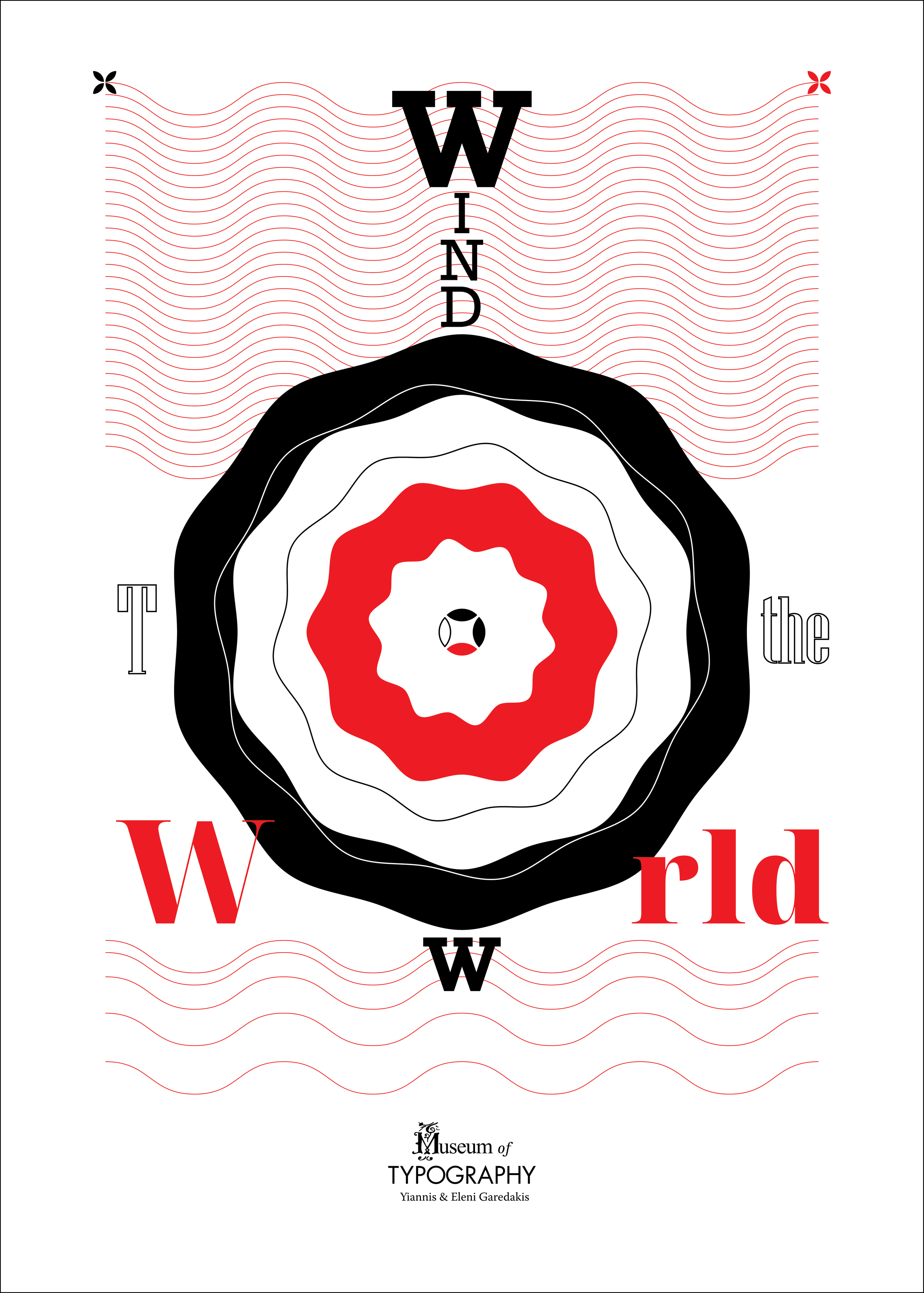 """Typography – Window to the World - Poster size: 50 × 70 (cm)This poster is my submission for the Museum Of Typography 5th Poster Contest which themes is """"Typography – Window to the World."""""""