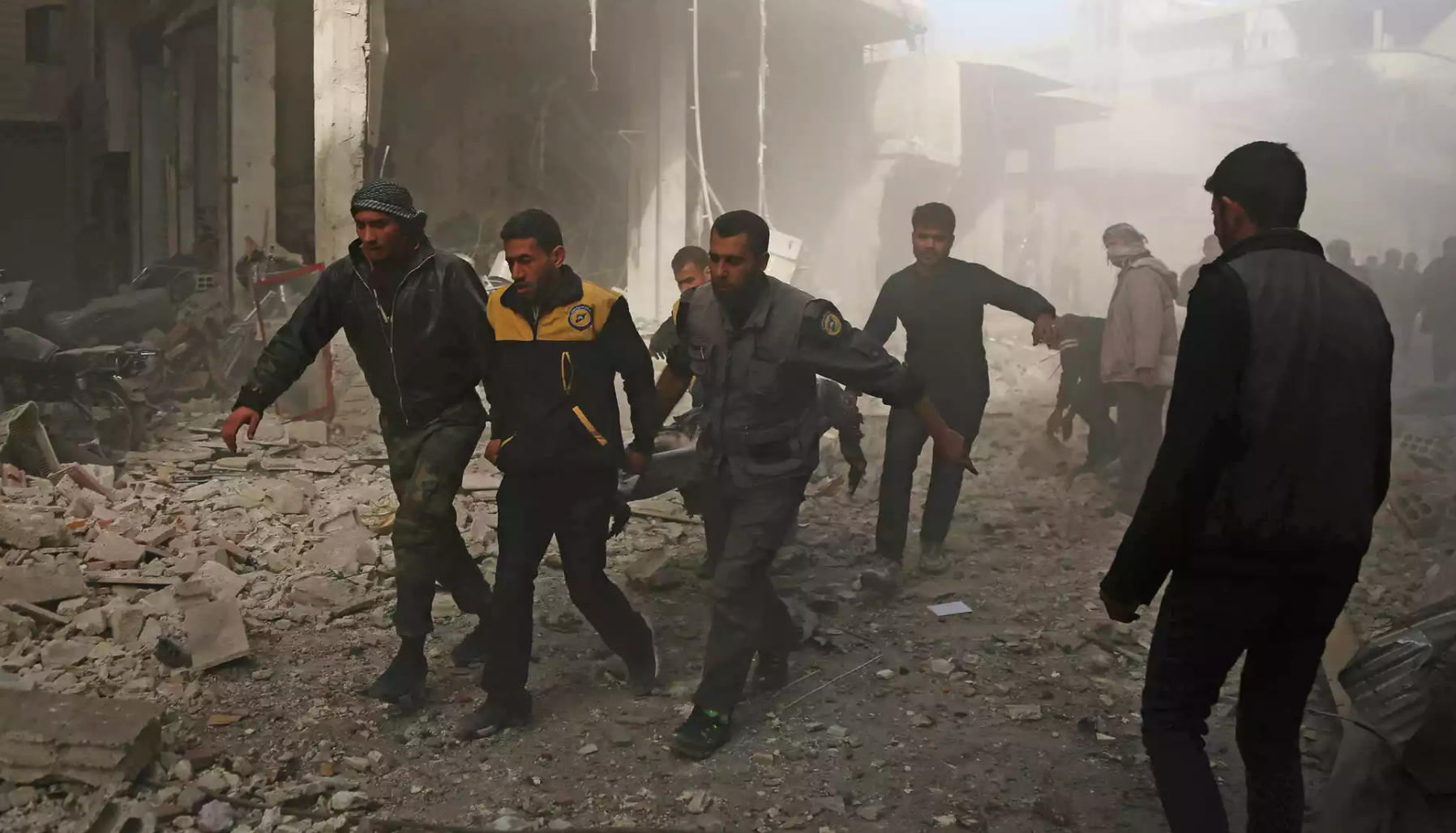 How Syria's White Helmets became victims of an online propaganda machine - The Russia-backed campaign to link the volunteer rescuers with al-Qaida exposes how conspiracy theories take root: 'It's like a factory'The Guardian, December 2017