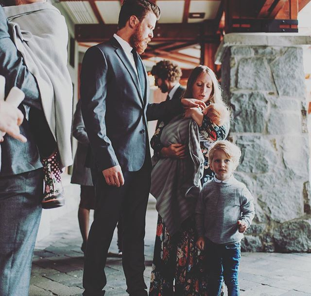 When you're too busy to snap even one pic of the whole family together on a trip out west. Thankful for this one candid shot from the most beautiful wedding of @e_stank & @dikwadd. ❤️ Luckiest gal around. 📸 @darbymagill