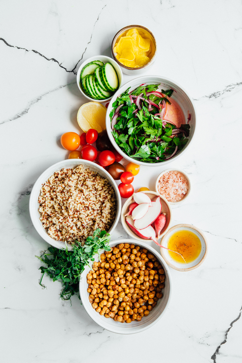 Bulgur And Quinoa Tabbouleh Bowl With Roasted Chickpeas And Pickled Beets-1.jpg