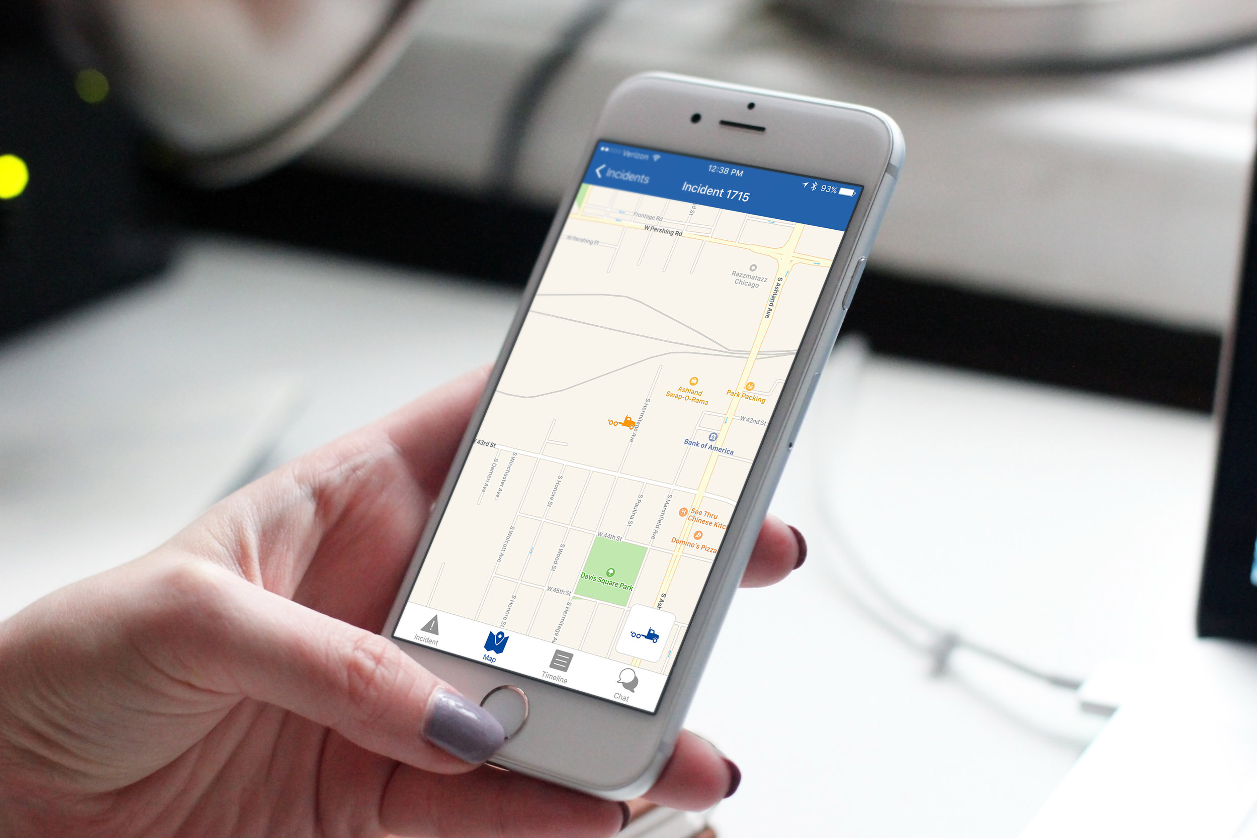 Vendors will know exactly where they are, through the RoadStar app