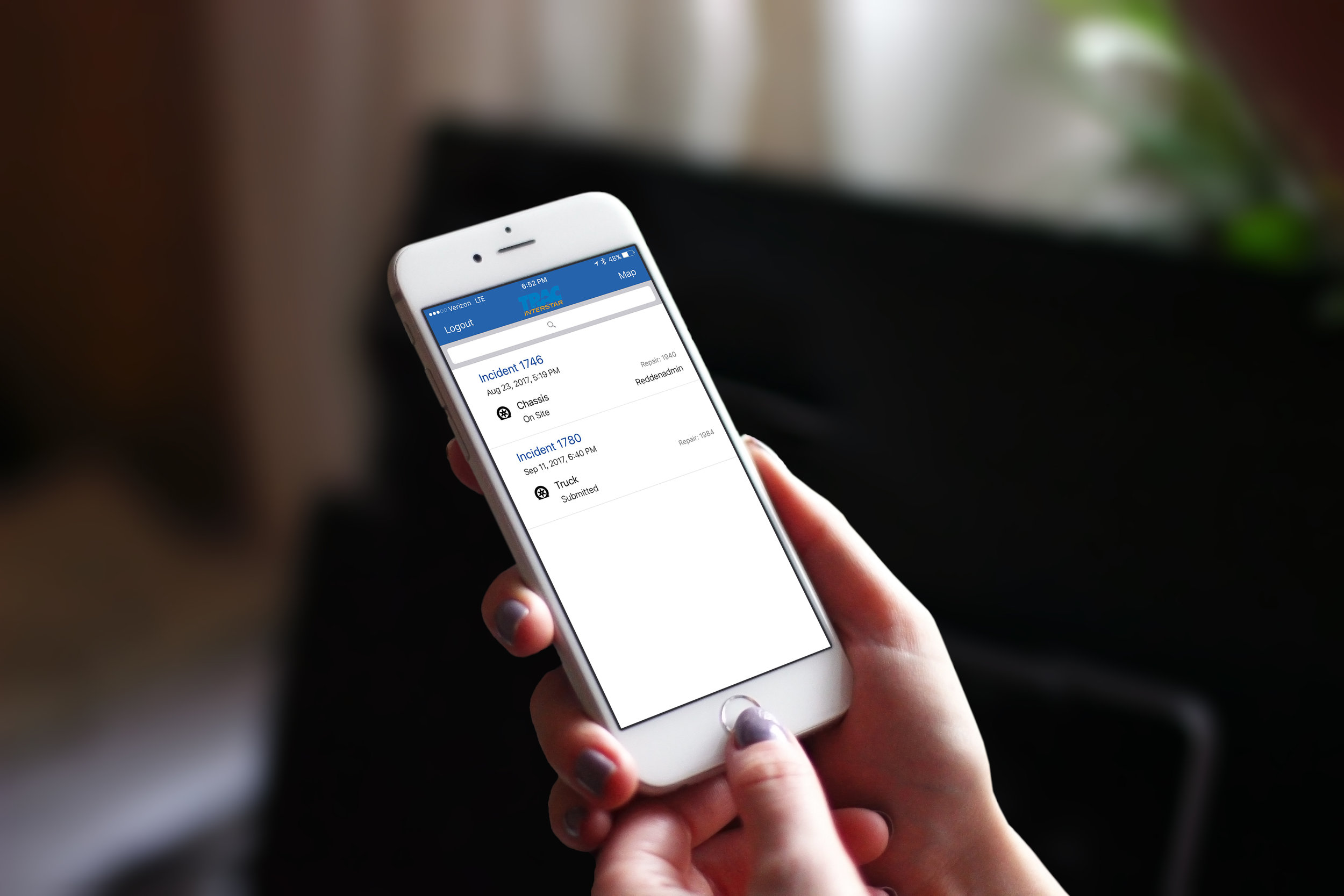 Get a summary of your previous, present & future requests, right from the app