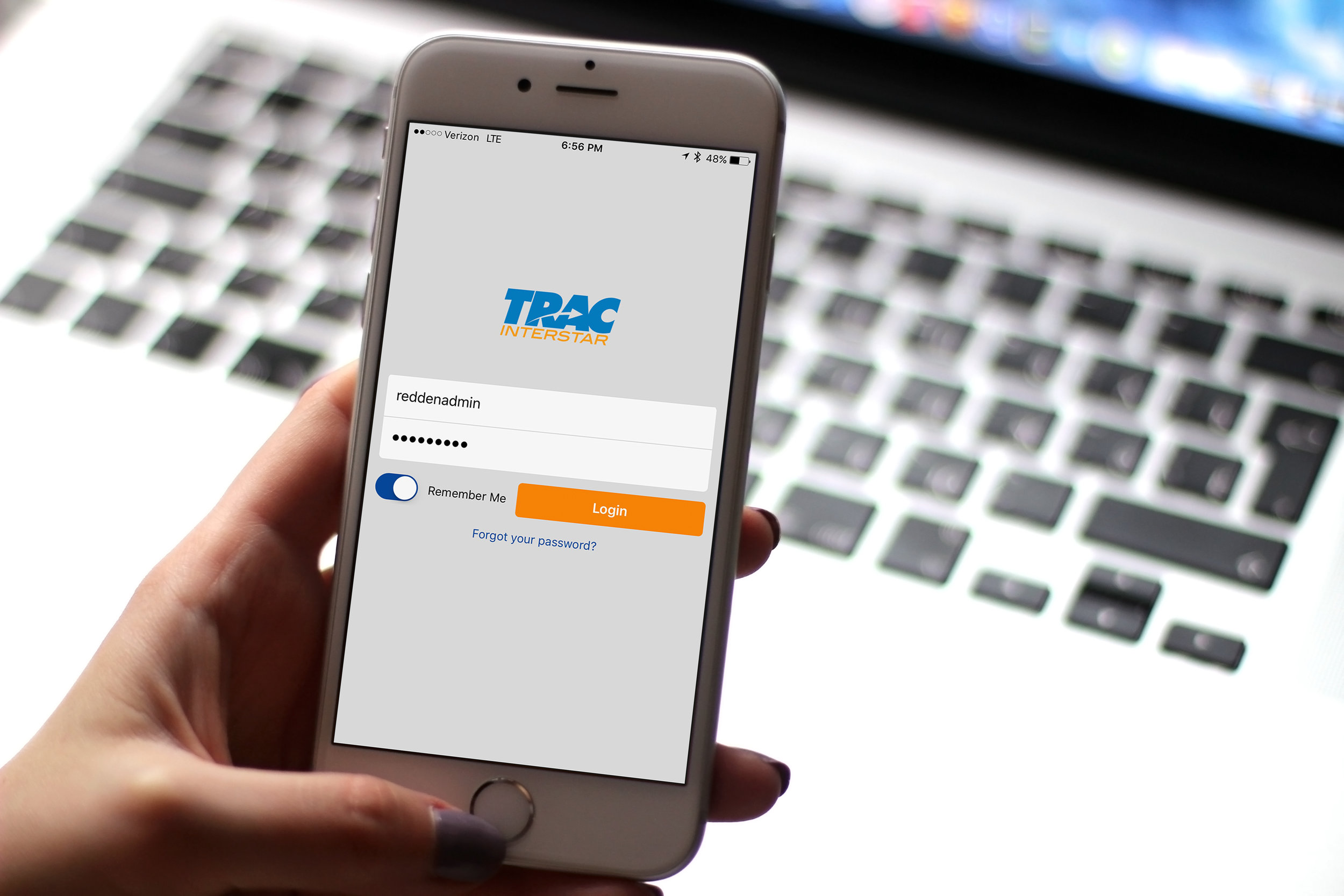 Each driver & vendor gets their own individual accounts, for easy navigation