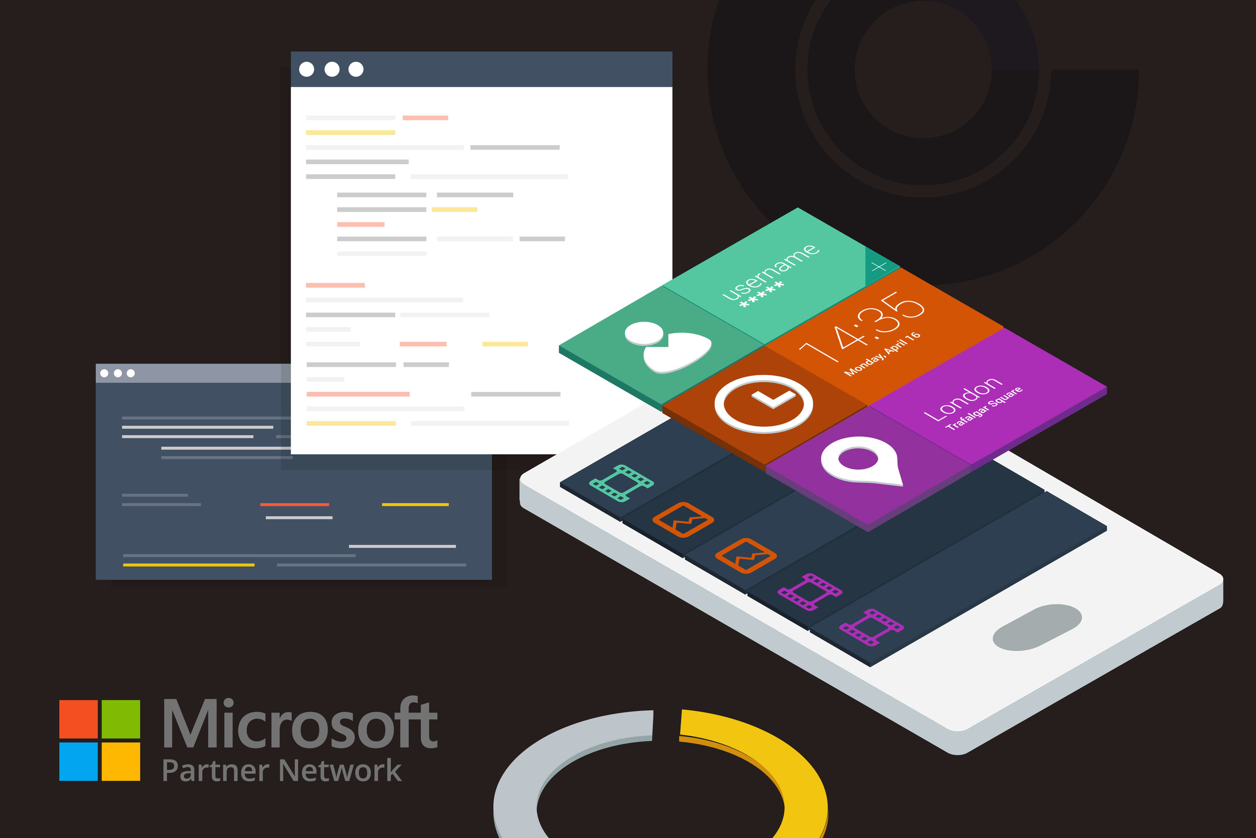 A Microsoft Gold Partner in Application Development - We specialize in .Net development, Microsoft Business Intelligence stack, SharePoint and Microsoft Cloud Technologies. We build mobile apps using both native iOS and Android development as well as NativeScript. With over ten years of experience, we are passionate about understanding your brand and delivering the best industry solutions and value for your business.As part of the Microsoft Partner Network, we have earned the Gold Partner status in Application Development.