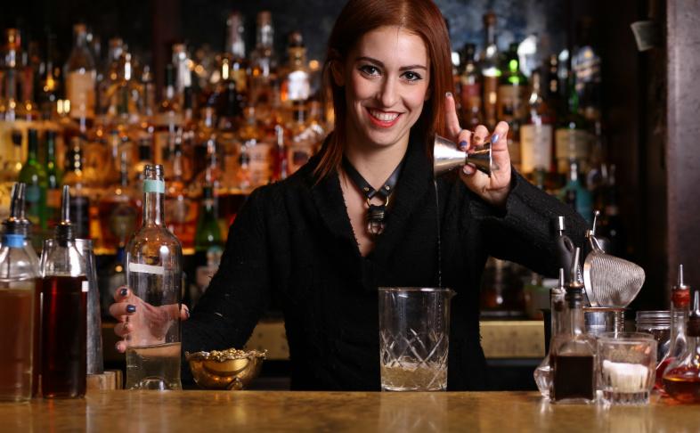 Bartender Yael Vengroff of The Spare Room. (Eugene Shoots)