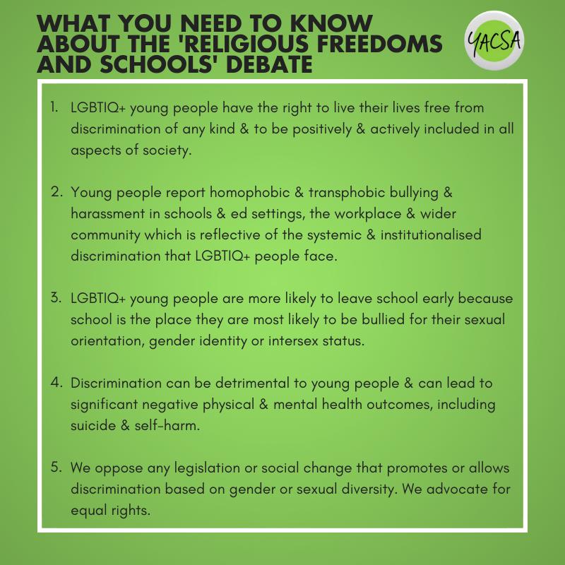 LGBTIQ+ protections in schools