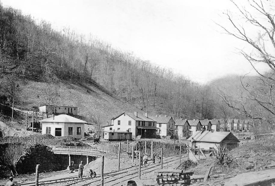 Town of Hemphill, about 1915.