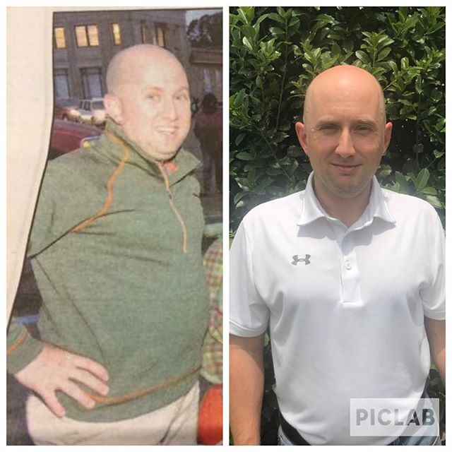 "Meet Eric, our Transformation Tuesday! His story is one to be admired! He went from pre-diabetes to a changed life and positive future! Please see his story below. ~ . ""In 2016, I found out I had pre-diabetes. It was time to get serious about my health and reverse this condition, especially since My wife and I had twin boys on the way. Catherine and Jennifer have been the greatest resources in my journey. They bring a wealth of knowledge regarding diabetes education and how to manage it. Exercise is important as well, and Jennifer is an incredible trainer. She is friendly, approachable, considerate of her clients' current health status and always encouraging. ~ . With their help and coaching, I have had phenomenal results. Completing a round of Whole30 group sessions was also instrumental for my weight loss and following my first round, my blood sugar went from 116 to 92 and my A1C went from 5.6 to 5.1! Not only did I reverse my pre-diabetes but I also lost 20 pounds. I believe that Whole30 is a great way to understand how certain foods are negatively affecting us and can lead to conditions such as diabetes and obesity.~ . Also after transitioning from Whole30 to a lower carb/Keto way of eating, my A1C is now 4.7.  It goes to show that you can put pre-diabetes or Type 2 Diabetes in remission and the body can start operating as it should. The wellness staff is passionate about improving the health of others and helping to transform lives through education of food choices, ways of eating and exercise."" ~ . #transformationtuesday #justeatrealfood #wellness #foodismedicine #jerf #changewithdeltahealth #deltahealthsolutions #whole30 #exercisemotivation #lchf #reversingdiabetes"