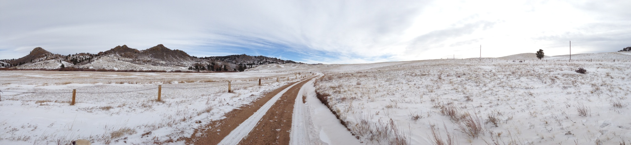 12.29.12 Christmas 2012 in Wyoming.