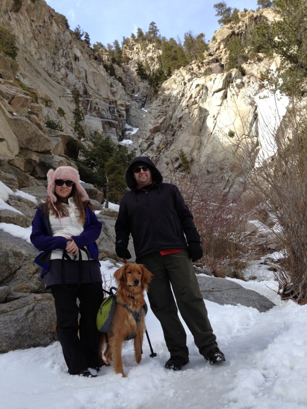 3.11.13 Spring Break was spent hiking with Lucy Lou in Buena Vista, CO with Anie and her family!