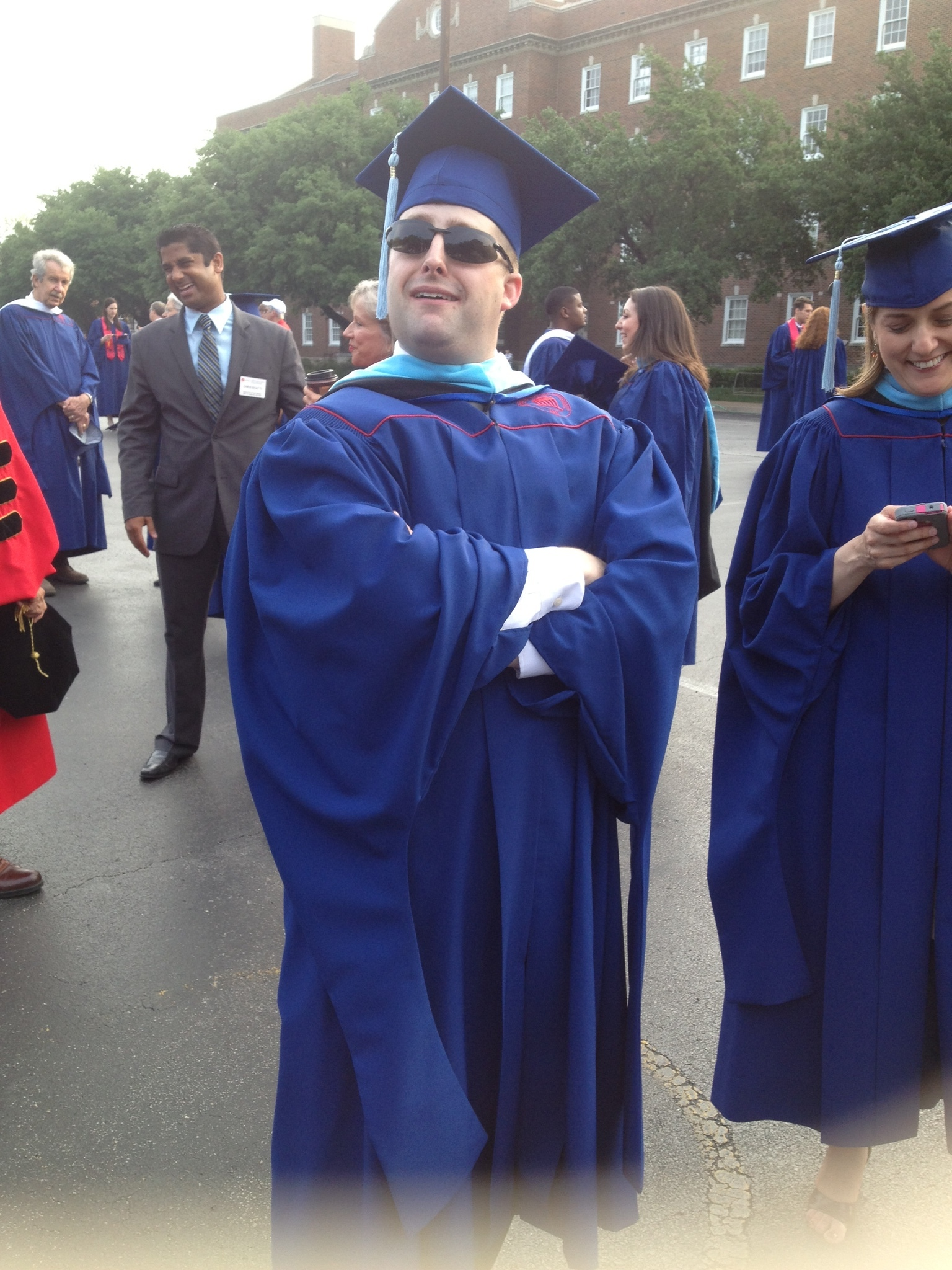 5.18.13 That time he got his Masters degree from SMU!