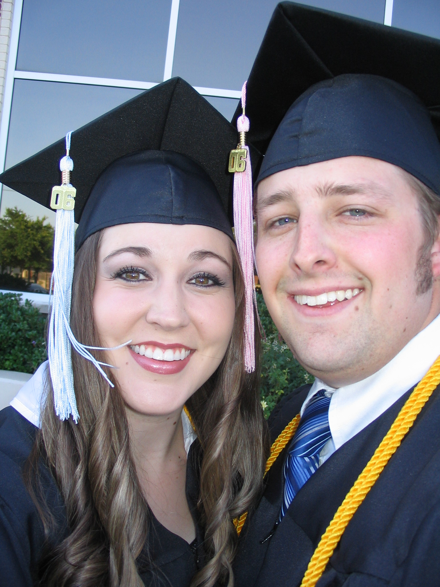 5.12.06 College graduation - 8 days before our wedding!