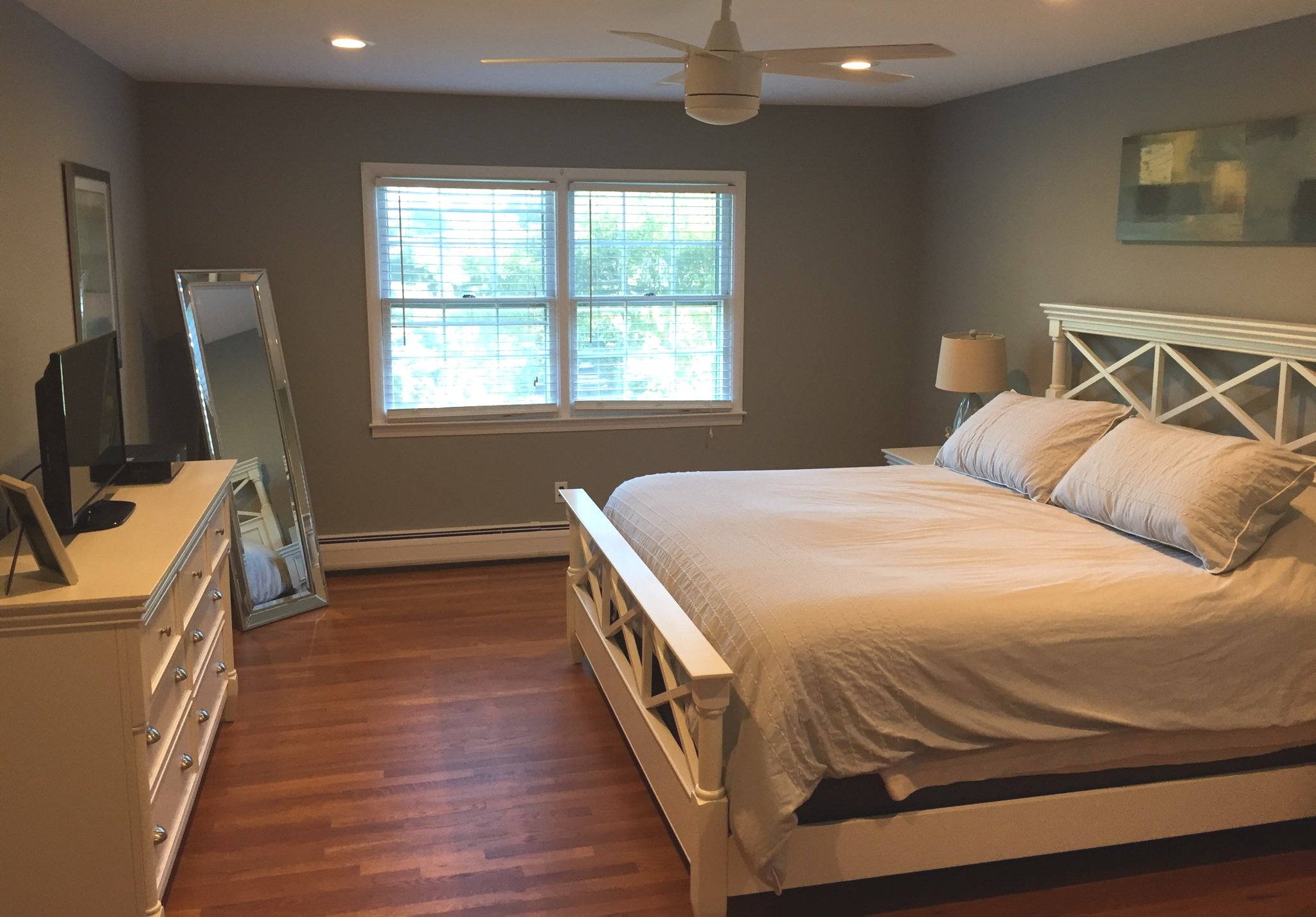 "- ""After my wife and I purchased our first home, Michael was so helpful with this overwhelming experience. Michael worked with us on color recommendations, transitions into rooms, and was flexible around our schedule as we were completing renovations and moving-in. Michael and his team were professional, clean and efficient. I would strongly recommend them to others.""Chris D."